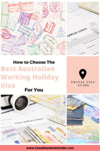 best Australian working holiday visas