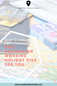 working holiday visas in Australia