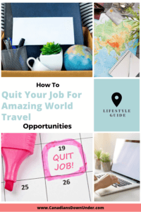 quit your job, travel the world