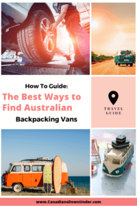 buying vans in Australia