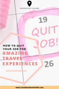 quit your job the right way
