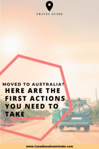 moved to Australia? find out what to do when you first move to australia