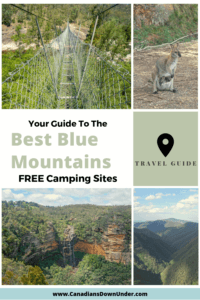 best blue mountains camping sites