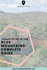 travel guide for the blue mountains