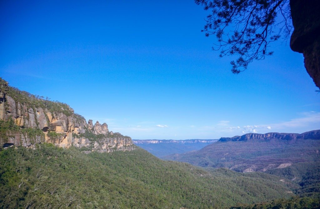 Three Sisters Blue Mountains, short camping d