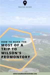 wilson's promontory trip planning guide