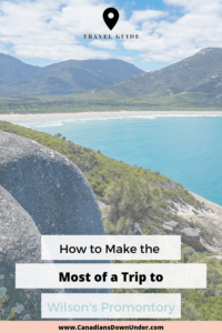 trip to wilson's promontory planning guide