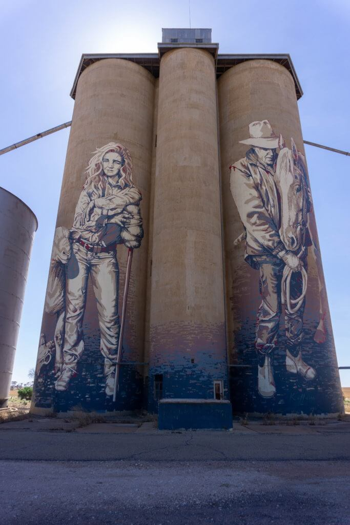 Rosebery silo art trail