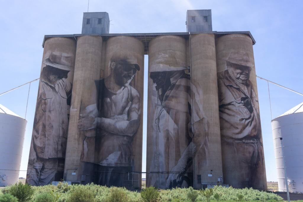 Brim Silo on the silo art trail