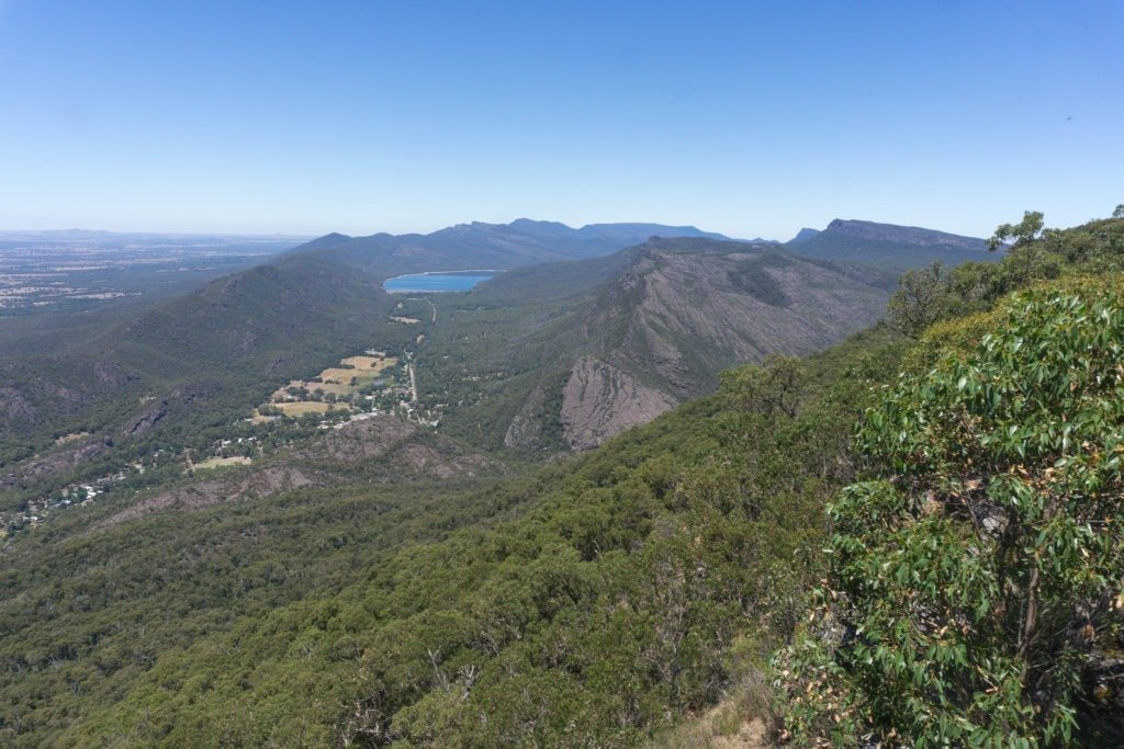 amazing views in the grampians