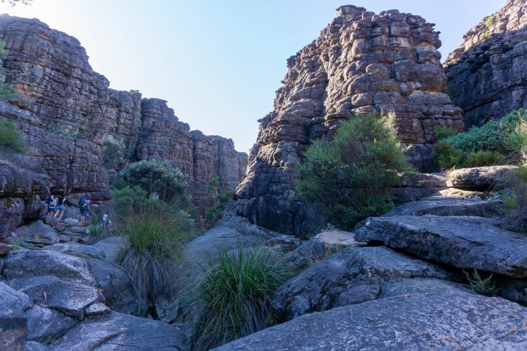 Entrance to the Grand Canyon in the Grampians